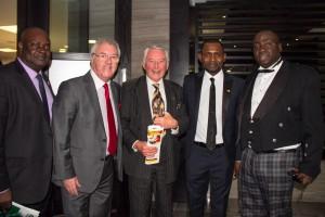 MD & CEO Fema, Ken Stewart AFS Special Adviser Lord David Steel Beltus Etchu & Festus Olatunde
